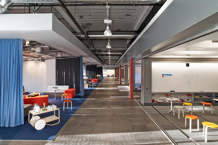 GE  San Ramon Design Center  Office Snapshots