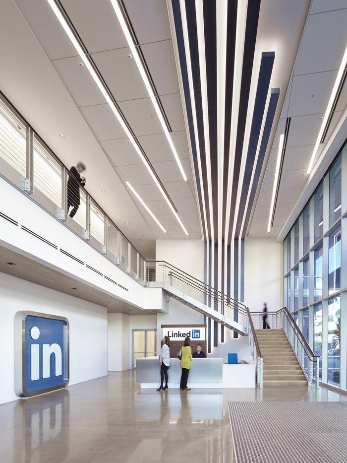 LinkedIn  Sunnyvale Campus  Office Snapshots