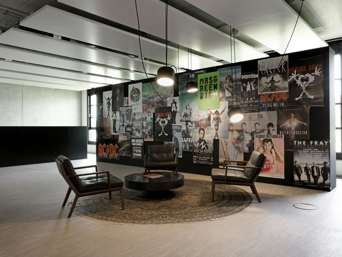 Sony Music Offices  Munich  Office Snapshots