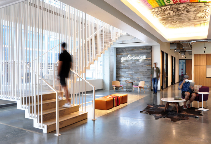 Galvanize - lauckgroup - Stair Base