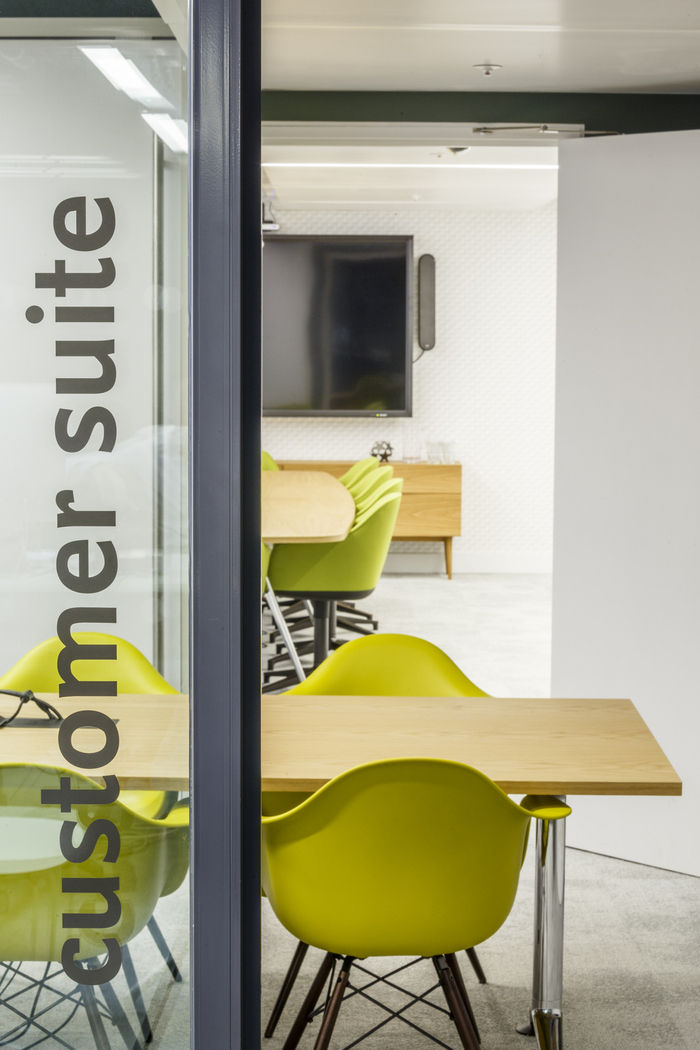 50 - A final cluster of meeting rooms makes up the Customer Suite