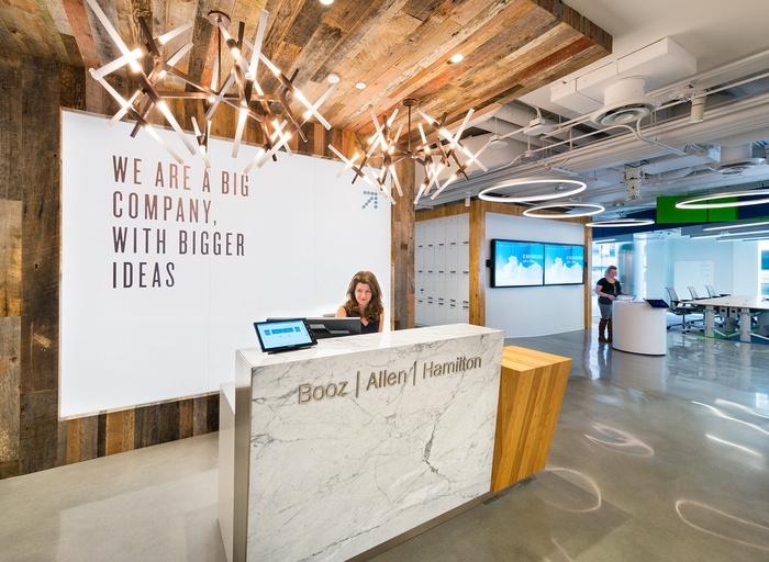Booz Allen Hamiltons Innovation Center Offices