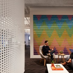 Office Chair On Carpet Wood Rocking Parts Sprout Social Offices - Chicago Snapshots