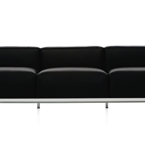 lc3 sofa leather reclining in denver office snapshots 0