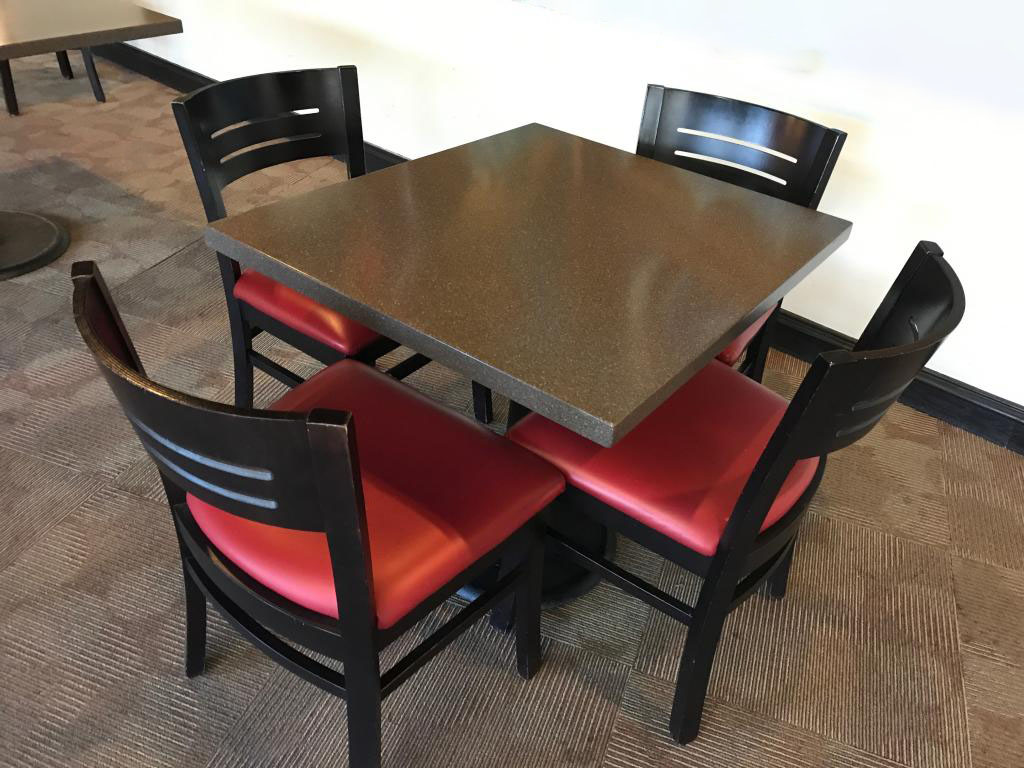 Break Room Chairs Square Breakroom Table With 4 Chairs Office Solutions Inc