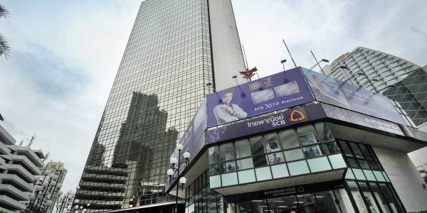 Sino Thai Tower on Asoke Road