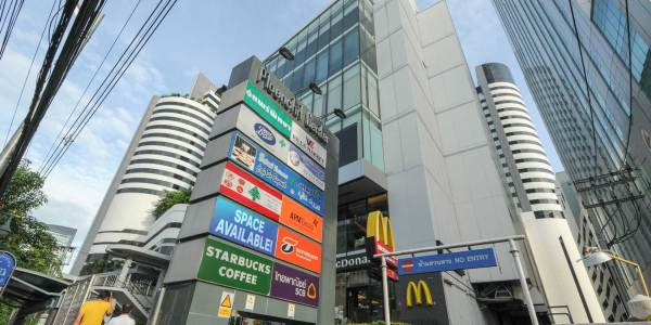 Ploenchit Center office and retail space for rent