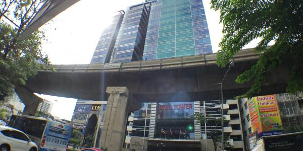 Paso Tower - Office Space For Rent on Silom Road.