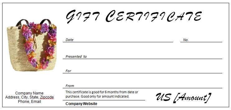 40 Gift Certificates Templates For Any Occasion Microsoft And Open Office Templates