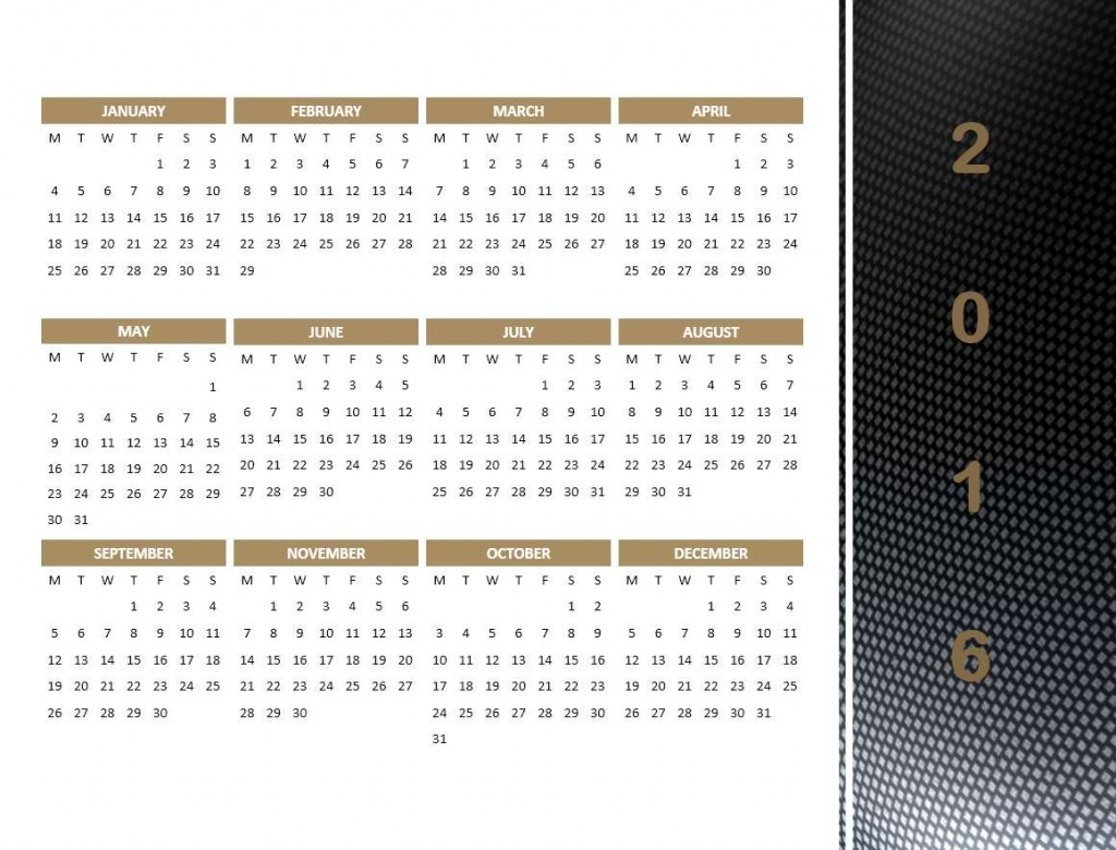 microsoft office calendar template 2015
