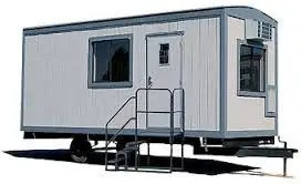 8' x 20' Office Trailers For Rent