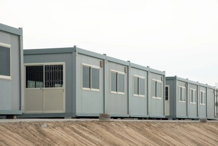 permanent modular office building