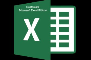 How to customize ribbon in MS Office