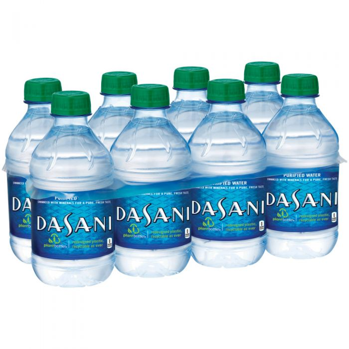 dasani bottled water delivery