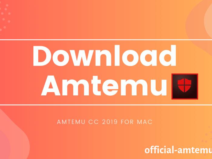 Download Amtemu CC 2019 For Mac
