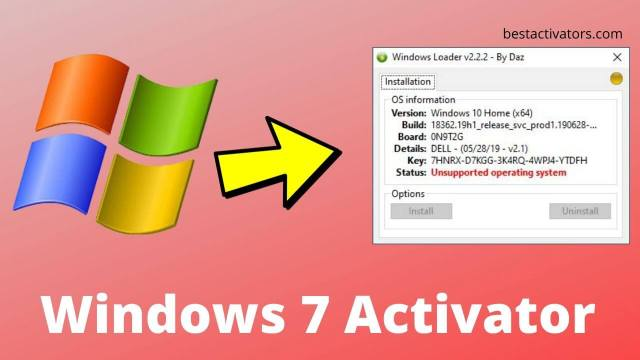 Windows 7 Activator Download For 32-64bit [Official 2021]