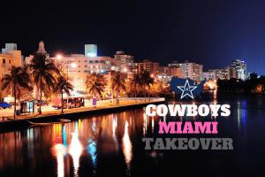 Clubs, Takeover, Dallas Cowboys, Miami