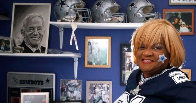 Carolyn Price, OAT, Dallas Cowboys, Superfan