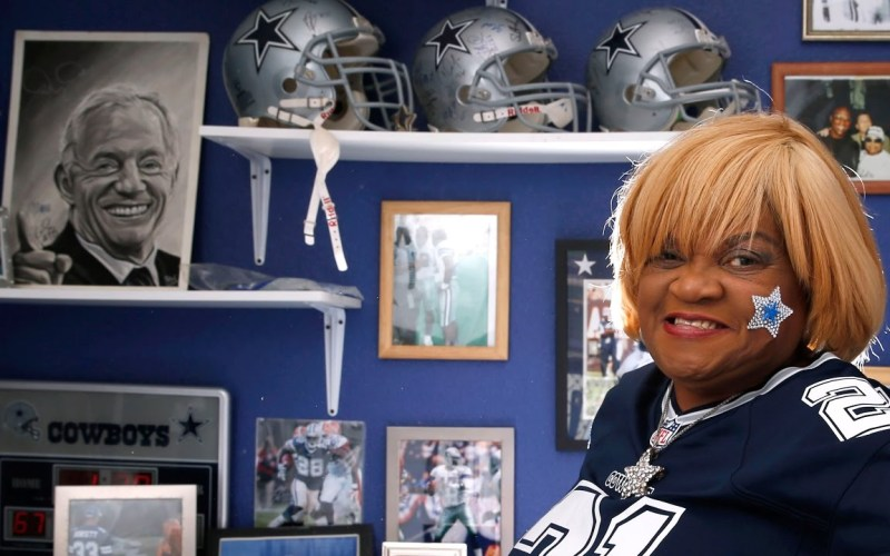 Carolyn Price, OAT, Dallas Cowboys, Superfan