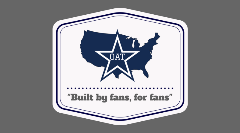 "Official America""s Team, OAT, Dallas Cowboys, Built by fans, for fans, fan club, clubs, join"