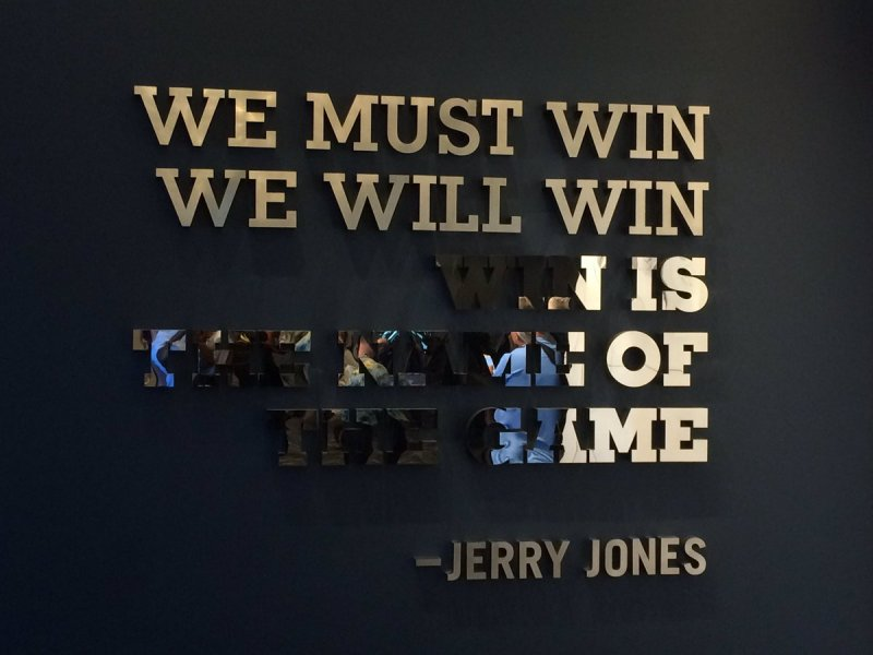 Jerry Jones, OAT, All Or Nothing, The Star, love, Dallas Cowboys