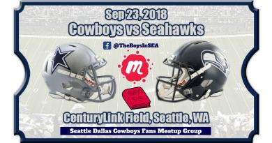 Seattle Dallas Cowboys Fans, Meetup, OAT