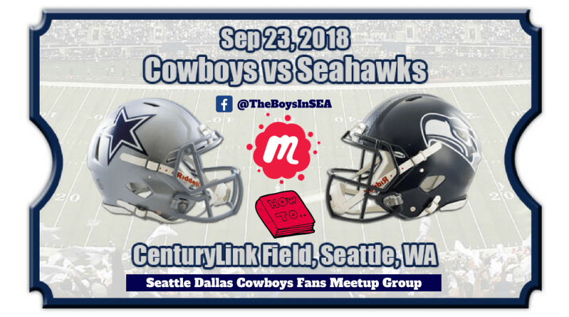 Seattle Dallas Cowboys Fans, Meetup, OAT