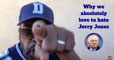 Jerry Jones, Love, hate, OAT, Shango, Barry Gipson