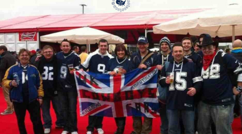 UK Cowboys Fans, OAT, Social Media #, Dallas Cowboys, Barry Gipson, Comcast Cowboy