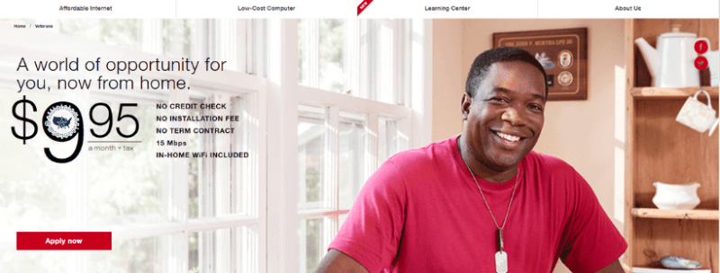 Comcast, Internet Essentials, Veterans, Comcast Cowboy, Sean Weatherspoon, Navy, NCIS