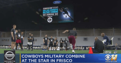 Dallas Cowboys, Military, Veterans, Combine, Barry Gipson, LinkedIn