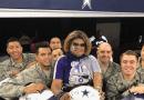 Cowboys fan personality, social media, military, veterans, Carolyn Price