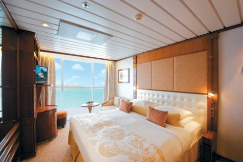 Paul Gauguin cruise ship balcony stateroom