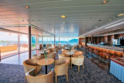 Paul Gauguin cruise ship lounge