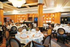 Paul Gauguin cruises cruise ship dining room