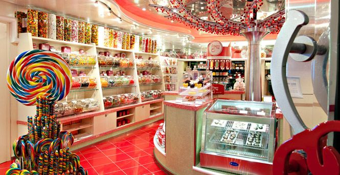 Carnival's Cherry on Top shops are sweet