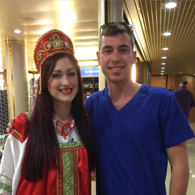 Holland America staff dress up for Baltic cruise