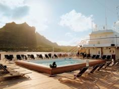 Paul Gauguin cruises cruise ship pool