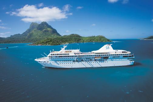 paul gauguin cruises cruise ship exterior port side