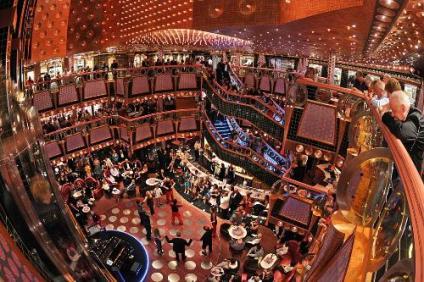 carnival cruise line splendor atrium