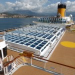 costa cruise line retractable roof