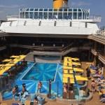costa cruise line diadema swimming pool