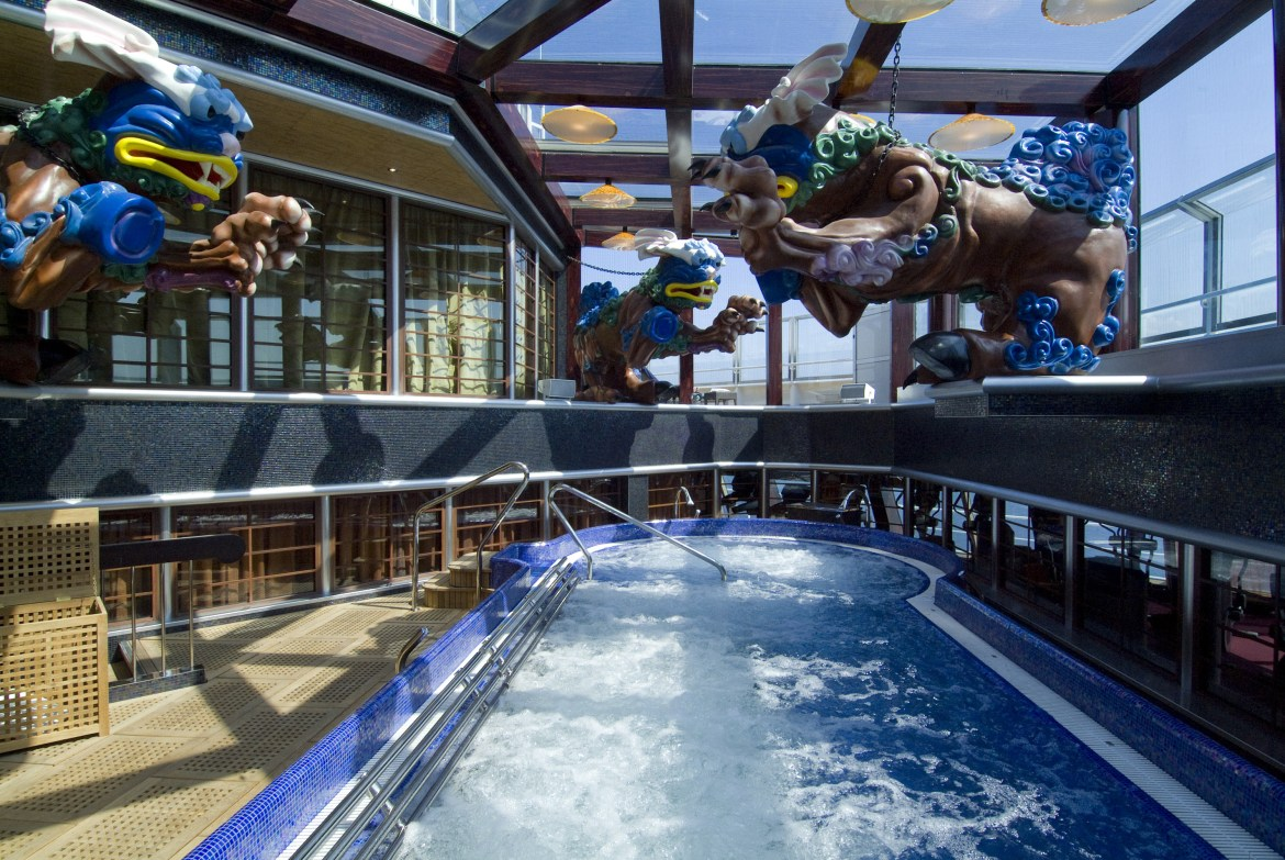 Carnival Splendor ideal for fitness and spa lovers