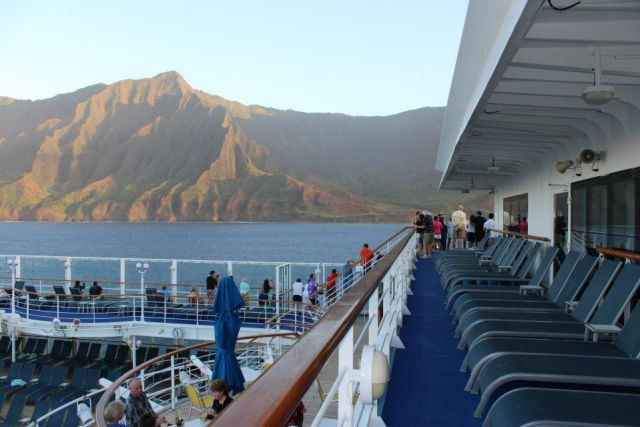 norwegian cruise line pride of america hawaii top deck
