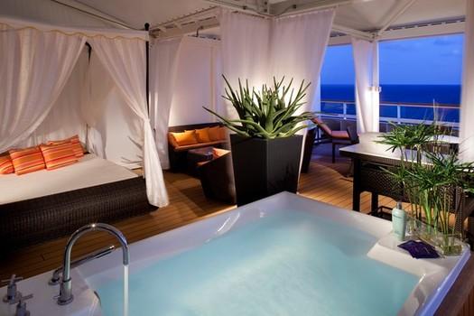 Seabourn Odyssey spa villa