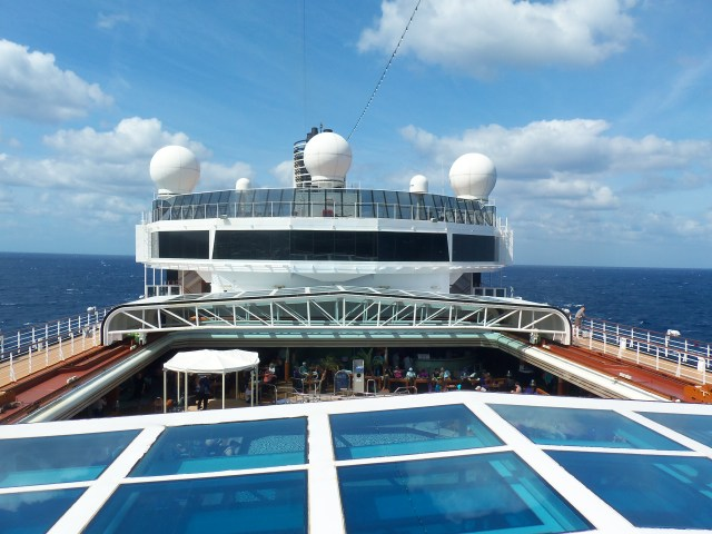 Holland America Eurodam day at sea