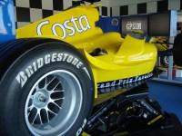 Costa Cruises racecar simulator
