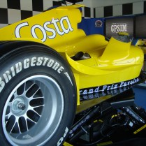 Costa Cruises racecar simulator