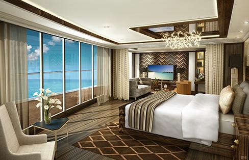 Regent Cruises Explorer cruise ship regent suite