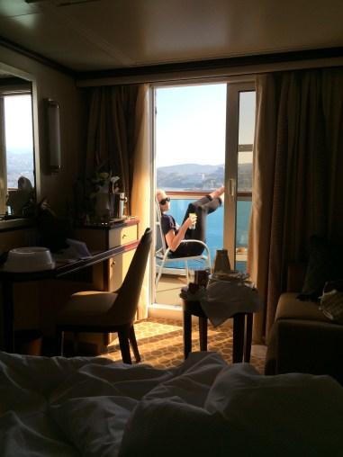Princess Cruises Regal Princess balcony